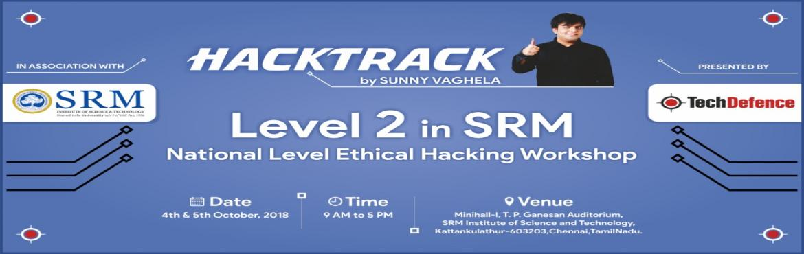 Book Online Tickets for Hacktrack V2 Ethical Hacking Level 2 Wor, Kattankula. Forbes stated that cybersecurity market is expected to grow from $75 billion in 2015 to $170 billion by 2020. With information security becoming boardroom level concern, Training an certifications are becoming very important for any individuals. &nbs