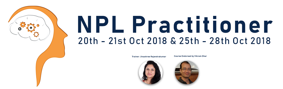 Book Online Tickets for NLP(Neuro-Linguistic Programming) , Bengaluru. Smiles N Moreis conducting an interactivetraining onNLP(Neuro-Linguistic Programming)techniques that will be applicable in a wide variety of contexts. - Convert your challenges into opportunities- Strengthen your r