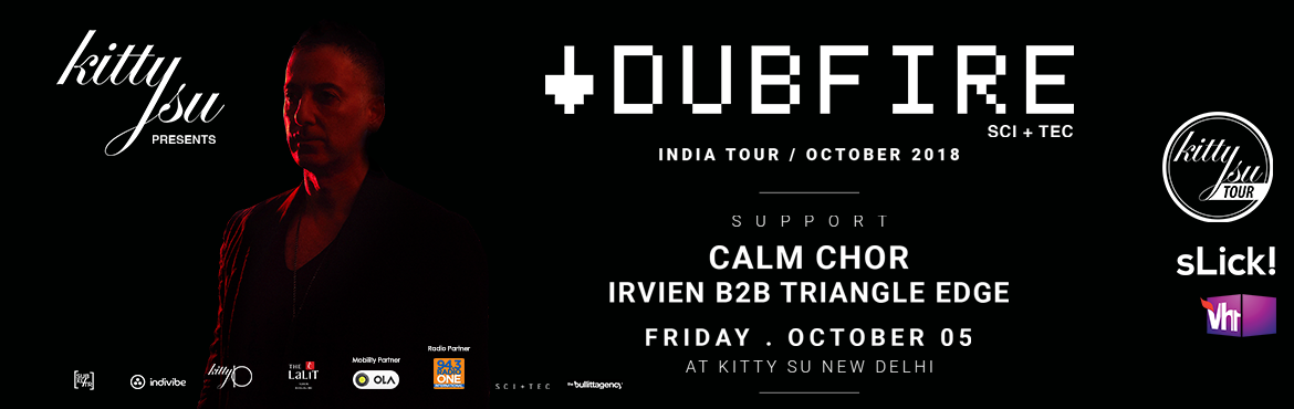 Book Online Tickets for DUBFIRE INDIAN TOUR 2018 at Delhi, New Delhi. DUBFIRE INDIAN TOUR 2018 at Delhi The man, the myth, the legend. Grammy winning Techno powerhouse: Kitty Su & sLick! are proud to bring back to India the one & only Dubfire for an exclusive Kitty Su tour in # Delhi. Support acts: Ana Li