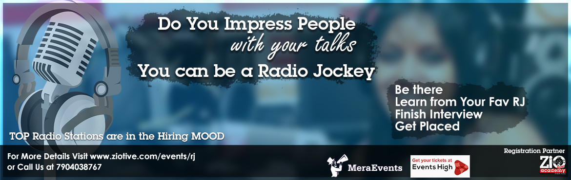 Book Online Tickets for Radio Jockey Master Class, Chennai.  Do You Think that You have a special talent of making people smile, laugh or lol around you. Having a Quality of making people listen to you all the time. Having a Creative approach on Everything. Then You are the right person for radio industry. &n