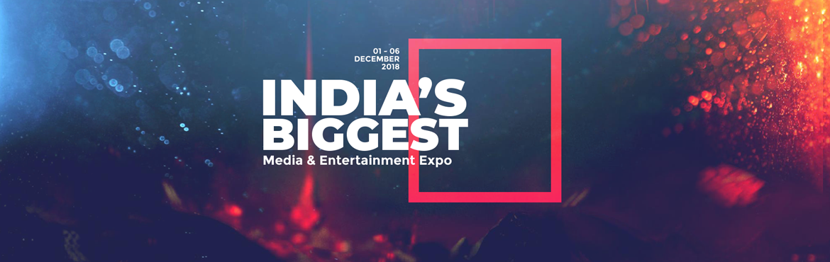 Book Online Tickets for India Joy 2018, Hyderabad. India Joy is an aggregator platform, bringing together prestigious International events in one place to unfold opportunities for Investors, Corporations, Studios, Content Developers, Delegates, Consumers, Hardware manufacturers and students, through