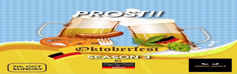 Book Online Tickets for Unlimited Beer Festival-Oktoberfest (Sea, Gurugram.  Party Out Delhi Brings You The Unlimited Beer Festival \