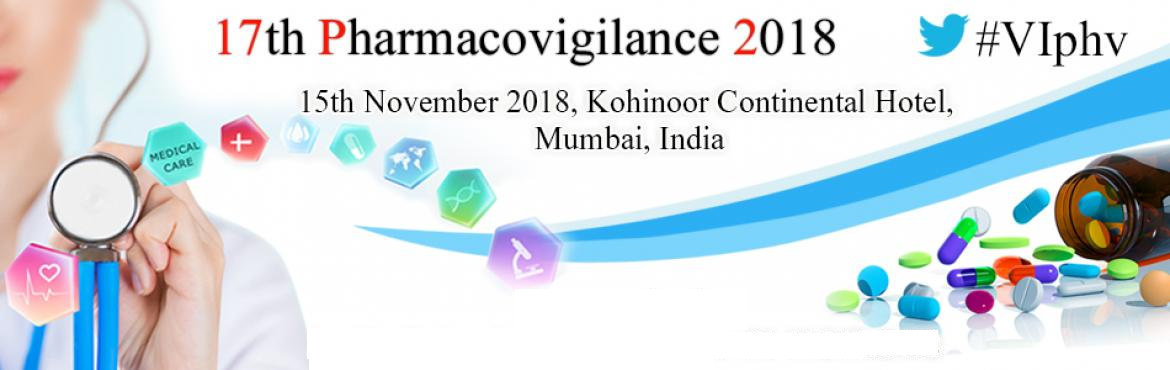 Book Online Tickets for  17th Pharmacovigilance 2018, Mumbai. 17th Pharmacovigilance 2018 15th November 2018, Kohinoor Continental Hotel, Mumbai, India Virtue Insight is glad to announce 17th Pharmacovigilance 2018 to be held on 15th November 2018 in Mumbai, India. It focuses on the advancements in Pharmacovigi