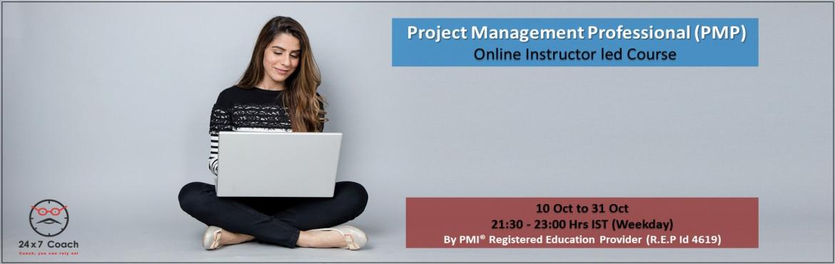 Book Online Tickets for PMP Online Training by PMI R.E.P. - Even, Visakhapat. Overview:Project Management Professional (PMP)® certification is the most recognized and highly valued credential in rapidly evolving profession of project management. This certification helps professionals demonstrate their experience, knowledge