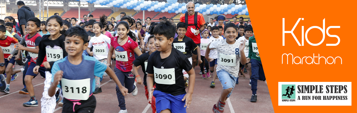 Book Online Tickets for Simple-Steps-Edition-4, Pune. Simple Steps  - a Marathon for juniors on 25 th Nov 2018!  Participants age group starting from 3 years to 15 years.  Date - 25th November Venue – Balewadi warm up stadium  Age group starting from 2 years to 15 yea