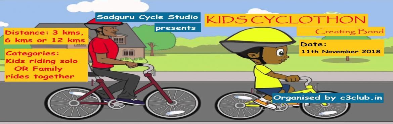 Book Online Tickets for KIDS CYCLOTHON- Creating Bond, Mumbai. \