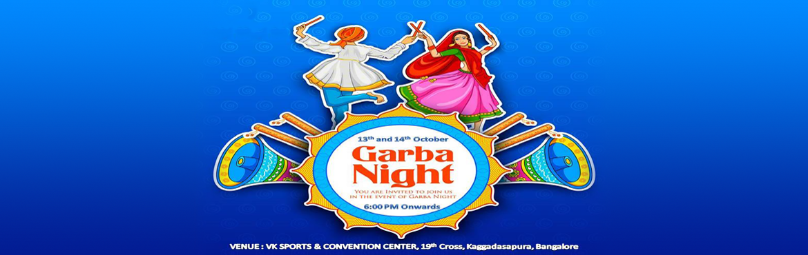 Book Online Tickets for Dandiya and Garba Night 2018, Bengaluru.  Dandiya & Garba Night 2018  Unlimited Music Variety of Food Stalls Free Dandiya Sticks Bollywood, Punjabi & Garba Theme Huge Dance Floor Live Dhol Play Free Entry for Kids Photo-booth, Props and Many More........