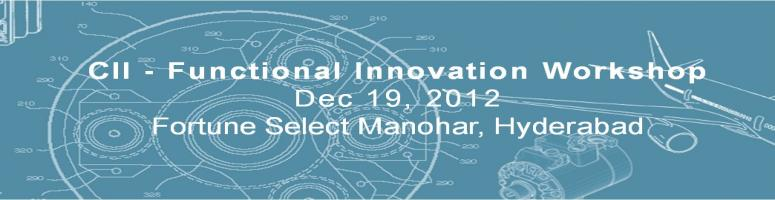 CII - Functional Innovation Workshop
