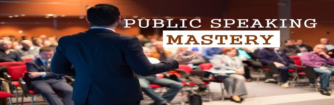 Book Online Tickets for Public Speaking Mastery, Hyderabad. Public Speaking is considered to be the number one fear in the world and approximately 74% of the world population suffer from speaking anxiety known as GLASSOPHOBIA. Are you one of them? If yes, do not worry, the good news is that you can overcome t