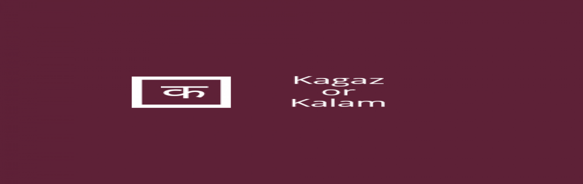 Book Online Tickets for Kagaz or Kalam open mic, Jaipur.