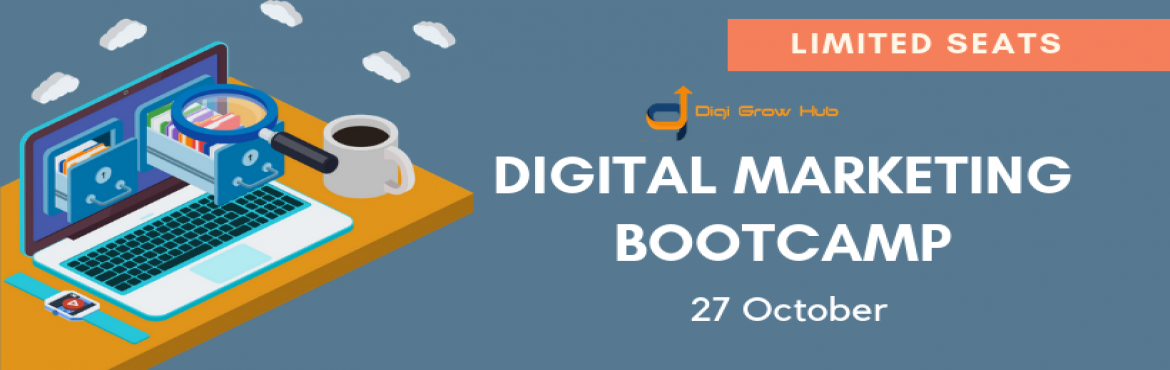 """Book Online Tickets for 1-Day digital marketing bootcamp, Pune. About The Event   Digital Marketing Bootcamp is equipped with Intensive Digital Marketing Tactics and Practice sessions,that completely does not means that you lose your interest and concentration in this 6 to 7 hour of boot camp,""""Most te"""