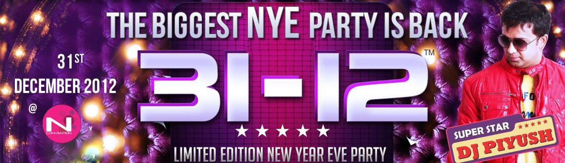 31-12 New Year Party With DJ Piyush @ N Convention