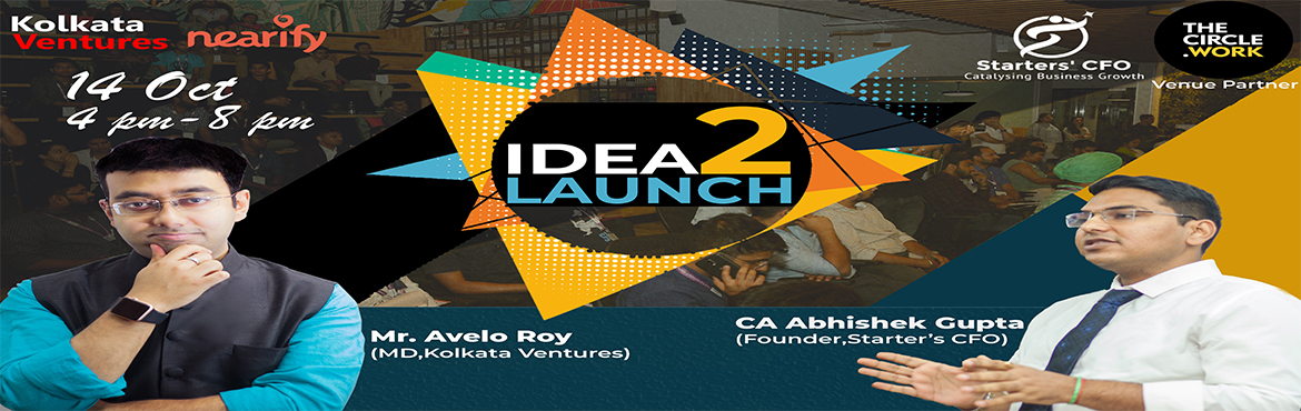 Book Online Tickets for Idea2Launch 4 Hr Workshop, Gurugram. A STEP BY STEP guide from idea to launch in 4 hrs using lean startup methodology. The workshop will conclude with one on one mentorship with Avelo Roy (MD, Kolkata Ventures) and other established entrepreneurs from the startup ecosyste