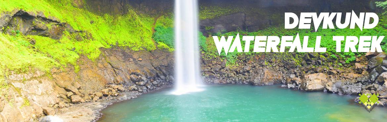 Book Online Tickets for Devkund Waterfall Trek, Pune. Devkund Waterfall: A scenic waterfall located near Bhira village in Tamhini GhatOne of the most scenic trek in tamhini ghat in monsoon.  Day 1:-  5.30 am Start Journey from Pickup Point at plus valley adventure office in Kothr