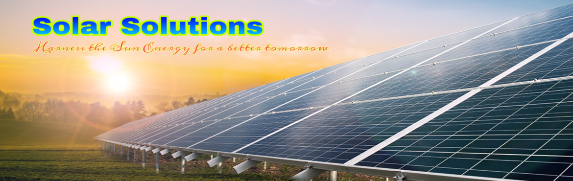 Book Online Tickets for 3-days Entrepreneurship development trai, Nagpur. Solar solutions going to conduct training program of solar energy .We are a team of technical expert who have deep knowledge and field experience of Solar energy plants and systems.we provide support for marketing,Installation and service after train