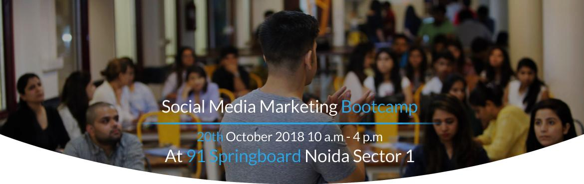 Book Online Tickets for Social Media Marketing Bootcamp, Noida. Do you want to leverage the power of Social Media Marketing to Successfully Grow your Business Online? Then, Make sure to Join Me at the Social Media Marketing Bootcamp an Exclusive Workshop that has helped 500+ Entrepreneurs & Business Owners to