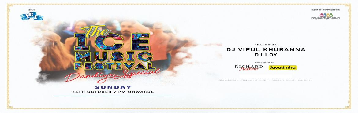 Book Online Tickets for Poolside Dandiya Night ft DJ Vipul Khura, Bengaluru.   Its that time of the Year, that we\'ve been waiting for !!!  Kingfisher and ICE - The Taj, MG Road in association with My Party Mob Presents The ICE Music Festival - The Dandiya Spl This Sunday - Oct , 14th At The Taj, MG Road : P