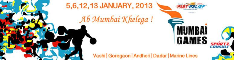 Book Online Tickets for Mumbai Games 2013, Mumbai. Mumbai Games 2013 :  In a nutshell, Mumbai Games is the Olympics of Mumbai! Mumbai Games is a multi-sport, multi-age group sports extravaganza for the Boys & Girls, Men & Women of Mumbai. A variety of sports competitions will be held