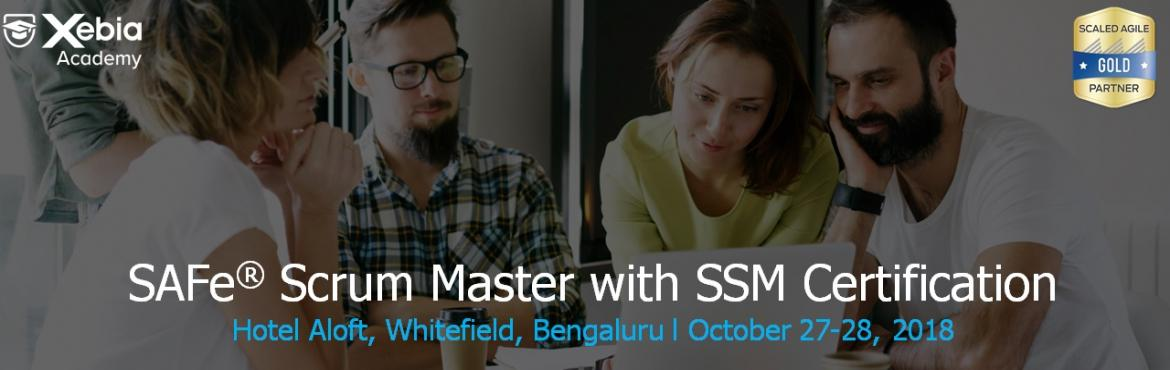 Book Online Tickets for SAFe Scrum Master with SSM Certification, Bengaluru. In this two-day course, attendees will gain an understanding of the role of a Scrum Master in a SAFe enterprise. Unlike traditional Scrum Master training that focuses on the fundamentals of team-level Scrum, the SAFe Scrum Master course explores the
