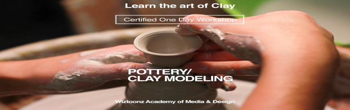 Book Online Tickets for Certified One day workshop on POTTERY  -, Bengaluru. Wiztoonz is all set to give an enriching experience for clay lovers to experience pottery in a new dimension. Learn the magic of throwing on the wheel. Working with clay is a deeply satisfying creative hobby, but many would-be potters are put o