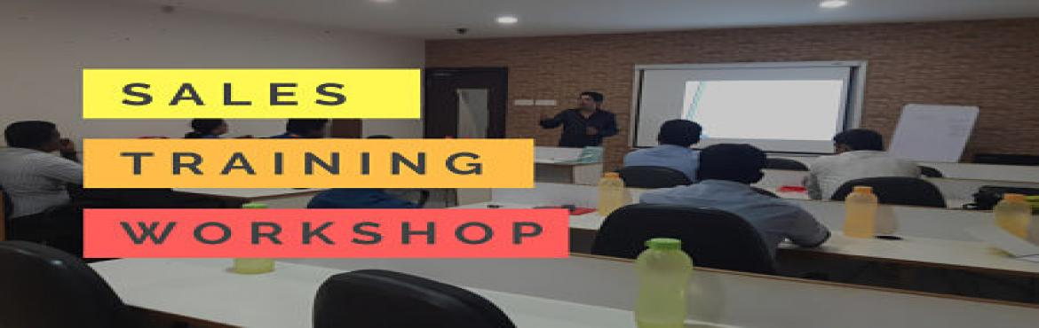 Book Online Tickets for Sales Training Workshop in Hyderabad | A, Hyderabad.  After the last Super successful \'Authoritative Sales Training\' workshop, excited to announce the next workshop in Hyderabad. If you have been struggling to close deals due to any of the following problems and wish to end your struggle then th