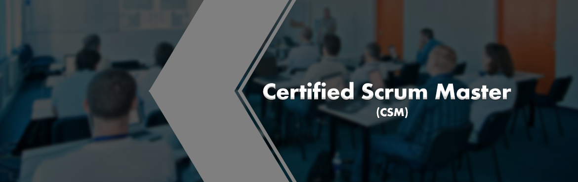 Book Online Tickets for CSM Certification, Pune (1 December 2018, Pune. A Certified ScrumMaster® is well equipped to use Scrum, an agile methodology to any project to ensure its success. Scrum's iterative approach and ability to respond to change, makes the Scrum practice best suited for projects with