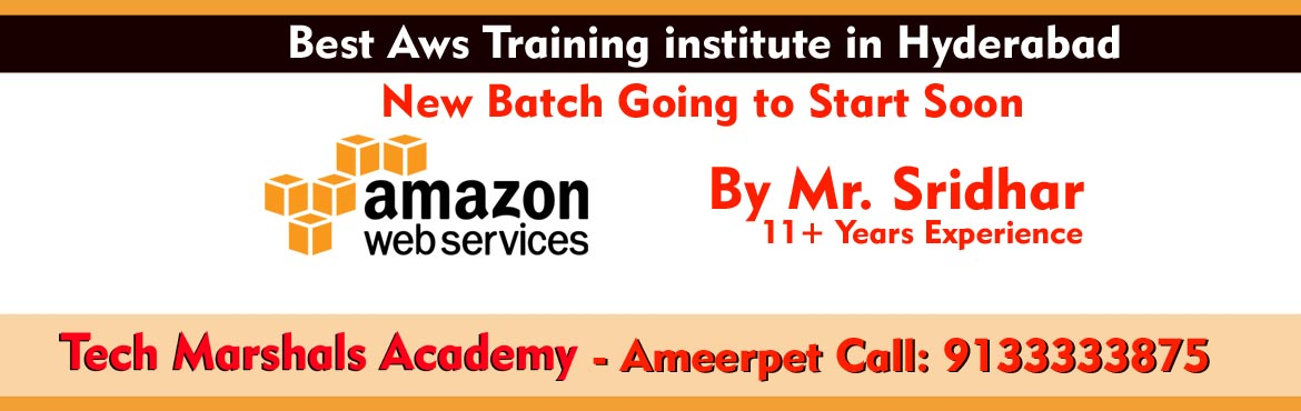 Book Online Tickets for BEST AWS (Real-Time) TRAINING IN HYDERAB, Hyderabad.   About The Event       This AWS certification course will help you learn the key concepts, latest trends, and best practices for working with the AWS architecture – and become industry-ready aws certified solutions architec