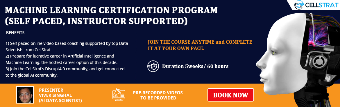Machine Learning Certification (Self Paced, Instructor Supported) |  MeraEvents com