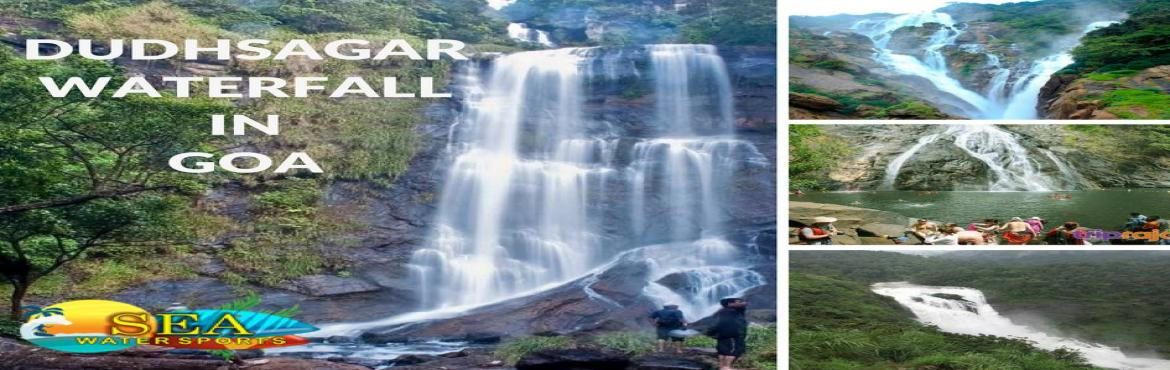 Book Online Tickets for Dudhsagar Waterfall Trip in Goa (1 day), goa.    DESCRIPTION    Dudhsagar Waterfall Trip in Goa(1 day) - (6 am to 4.30 pm)Inclusions ✔A/C transport✔Pick and Drop from North Goa Locations.✔ 1 hr Jeep Safari Ride to Waterfall.✔1 hr for at the Waterfall.✔Guided Tour at Spice P