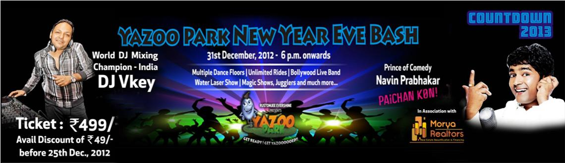 New Year Bash 2013 @ Yazoo Park