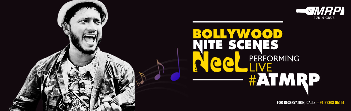 Book Online Tickets for Unplugged Music: NEEL Performing Live at, Mumbai. Known to woo the crowd with his soulful voice and music,#Neelis back to grace the stage with his eclectic vibes.For startling music, delicious fusion food, crazy cocktails, booze at#MRP, and lots more.Visit#ATMRP&n