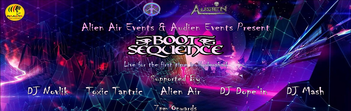 Book Online Tickets for Boot Sequence First Time Live in Hyderab, Hyderabad. Another wonderful psytrance night in Hyderabad! This time it\'s at the brand new Raasta Cafe! Already set with trippy, colouful interiors, it\'s a nice new place with a tight sound system and a cheerful team, ready to make your night worth memories!