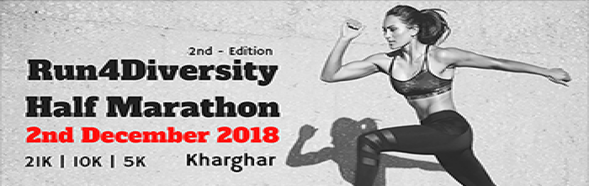 Book Online Tickets for Run4Diversity, Mumbai. AIMS - Certification In Progress Event Name :#Run4Diversity [ 21K | 10K | 5K]Date      : 2nd Dec 2018 Time :5.30am to 9.30 amRoad Route:Khargh