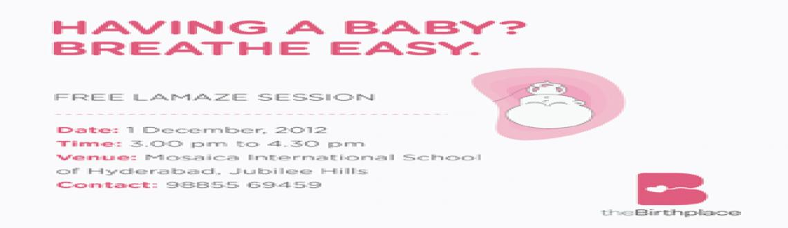 Free Workshop on Childbirth Education for Pregnant Mothers