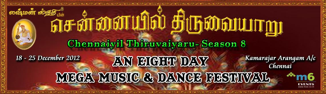 Book Online Tickets for Chennaiyil Thiruvaiyaru - Season 8, Chennai. \\\