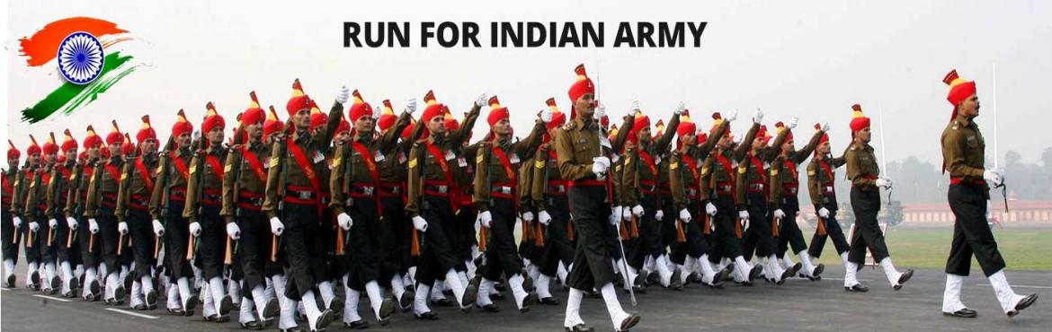 "Book Online Tickets for RUN FOR INDIAN ARMY - 5TH EDITION - A tr, Hyderabad. ON PUBLIC DEMAND AFTER A LONG TIME THE RUN IS BACK:--- MAA EVENTS MANAGEMENT™ is planning to organize the  ""RUN FOR INDIAN ARMY-5TH EDITION"", a  run at people\'s Plaza Necklace Road on Sunday 11TH November 2018 starti"