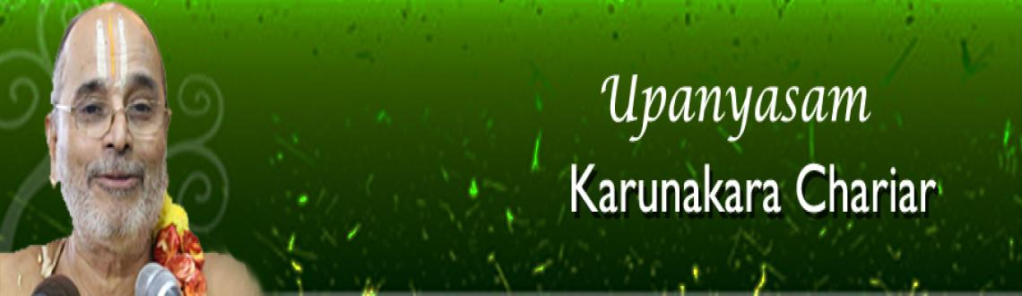 Book Online Tickets for Upanyasam - Karunakara Chariar -20th Dec, Chennai. Upanyasam - Karunakara Chariar - Chennaiyil Thiruvaiyaru - 20th Dec 2012