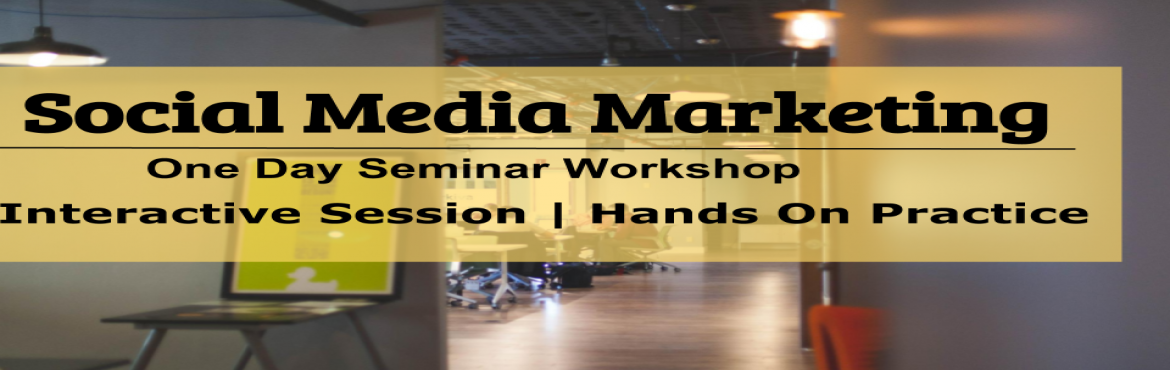 Book Online Tickets for Social Media Marketing - One Day Seminar, Pune. Must attend social media marketing one day workshop!  Looking for careers in Digital Marketing? Do you own small-medium business? Do you have start-up firm? Want to grow as a personal brand? Or simply want to work from home & grow? Then you