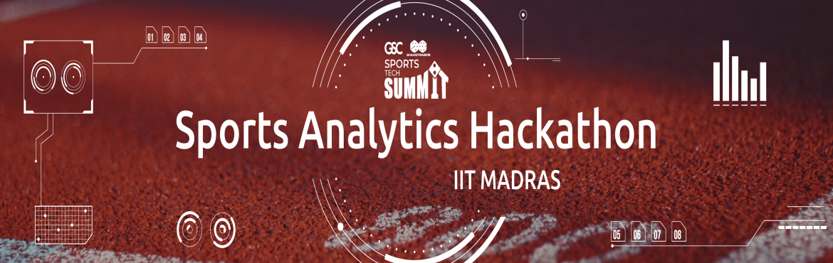 Book Online Tickets for Sports Analytics Hackathon, Chennai. The world of sports has witnessed more advancements today than ever before, resulting in better performance analysis, fan engagement and sports marketing. The vast accumulation of data due to advancements in broadcasting technology and Moore\'s Law h