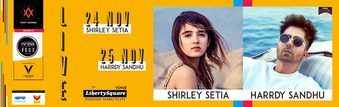 Book Online Tickets for Virsaa Fest 2018, Pune. Virsaa Fest- A 2-day festival for people of all ages to come together for one common purpose: Live Experience! Entertainment and experience being the first priority of the fest, Day 1 we have the youtube sensation, Shirley Setia to take you to on a r