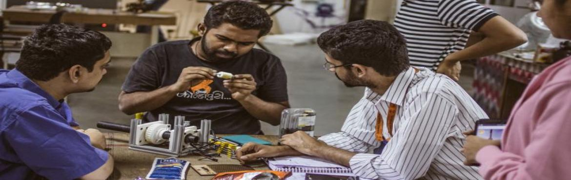 Book Online Tickets for Makers Asylum - Learn to Solder  (Maker , Hyderabad. A father and son or a father and daughter activity that helps them engage in learning how to solder and make blink badges. The fathers love to teach their children hands-on tools and we give them the opportunity to bond with their children over tools