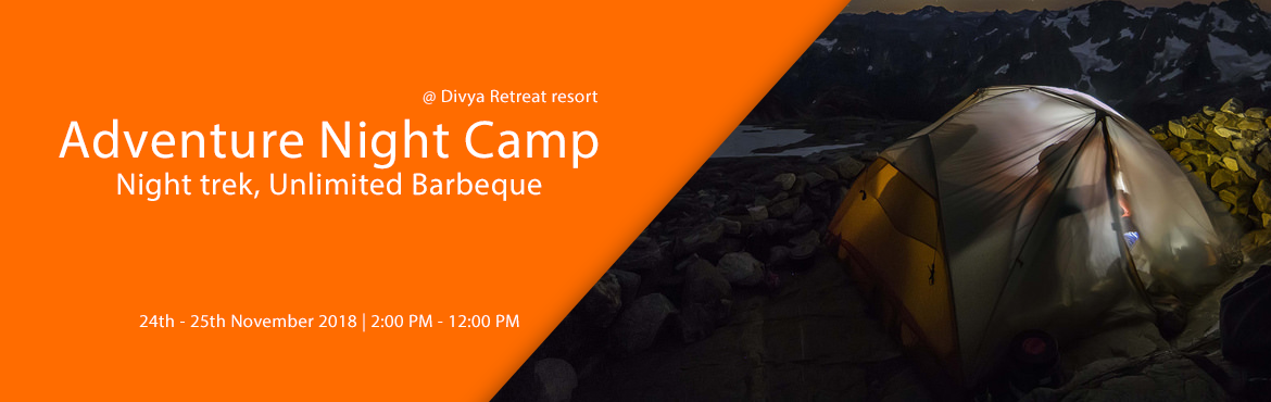 Book Online Tickets for Adventure Night Camp, Night trek, Unlimi, Hyderabad. Night camp in Divya Retreat Resort (Kesargutta) Keesaragutta is a hillock at the village of Keesara in Rangareddy District. It is famous for Ramalingeswara temple and the vast shrub forest with huge boulders and small small lakes. We will be enjoying