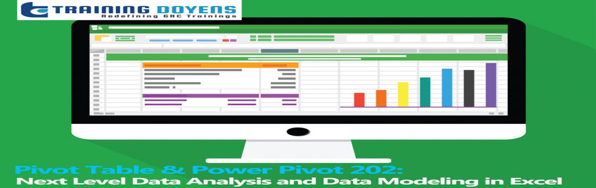 Live Webinar on Pivot Table and Power Pivot 202 Data Analysis and Data  Modeling in Excel | MeraEvents com