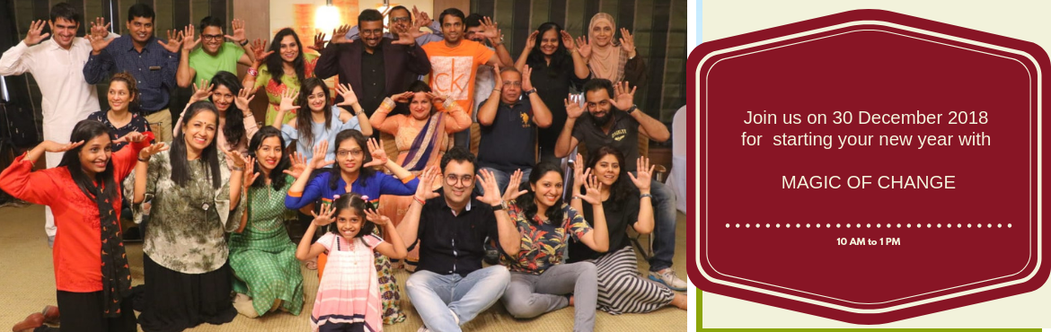 Book Online Tickets for Magic of Change by Mohammed Rafi and Tea, Pune. THE MAGIC OF CHANGE IS HERE A 3 Hour FREE session on Mind Mastery, Mind Reading, Money Mastery and Neuro-Linguistic Programming by India\'s Top NLP Trainer Mohhamed Rafi. Come and experience the magical change and transform yourself to ex