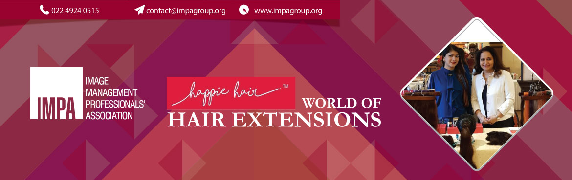 Book Online Tickets for Happie Hair World of  Hair Extensions, Mumbai. EVENT HAS BEEN POSTPONED TILL FURTHER NOTICE  ABOUT THE EXPERT - VRINDA PRABHU:  Entrepreneur & Founder of Happie Hair-Hair Extensions Studio. Vrinda is an Interior Designer by profession, however the quest for a solution to hair loss &