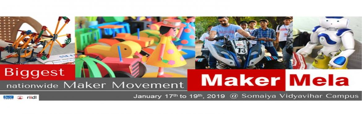 Book Online Tickets for Maker Mela, Mumbai. Maker Mela is the premier event for grassroot innovations in India. It is a celebration of arts, crafts, engineering, science, the DIY mindset, and the maker movement. It\'s a platform for like-minded folks who bring to life a diverse range of raw, u