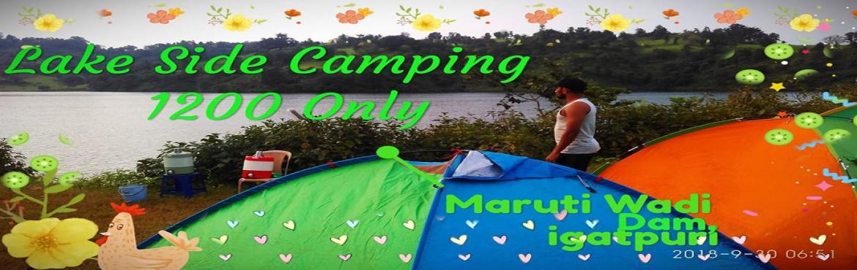 Book Online Tickets for camping,water sports,night trek,bonfire, Wakadpada.                            MARUTI WADI WATER SPORTS CENTER     &