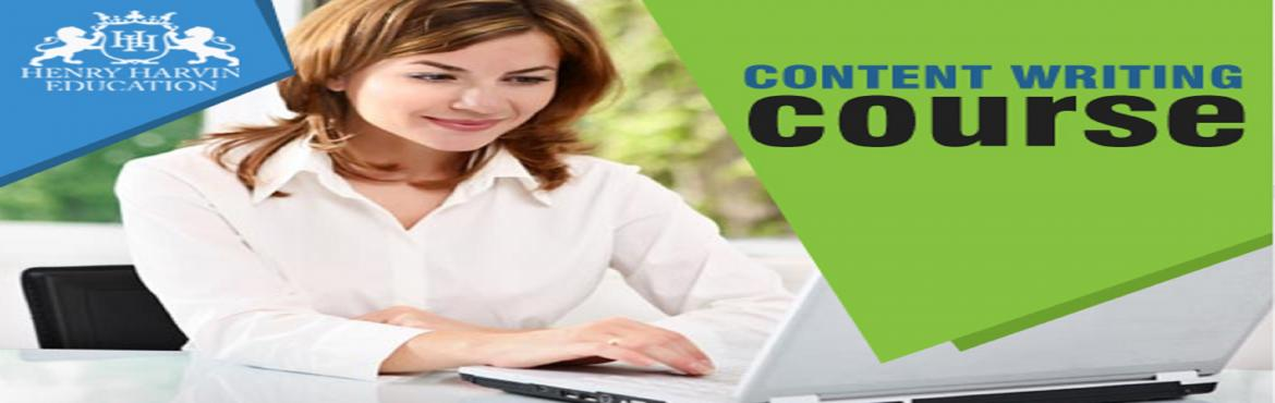 Book Online Tickets for Content Writing Course by Henry Harvin E, Bengaluru. Henry Harvin Educationintroduces 32 hours Classroom Based Training and Certification course on content writing creating professional content writer, marketers, strategists. Gain Proficiency in creating 30+ content types and become a Certified D