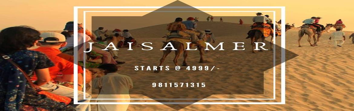 Book Online Tickets for JAISALMER DESERT CAMPING, New Delhi. Group trip to JaisalmerGet Royal in the Golden city of Rajasthan. Jaisalmer is the city is located deep inside in the famous Thar Desert of Rajasthan. Join our group trip to Jaisalmer where we will spend 1 night Jaisalmer city and covers all sightsee