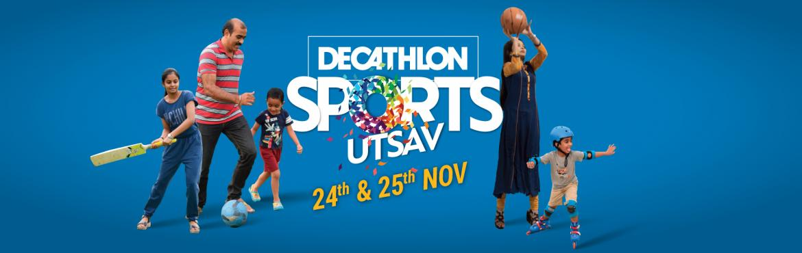 Book Online Tickets for SPORTS UTSAV , Hyderabad. Sports Utsav - the biggest Sporting event is back in our city on 24th-25th of November 2018 Within less than a days left to go..So get ready as it got Sportier & a lot more fun, so block your dates for the Weekend with your friends and family ask